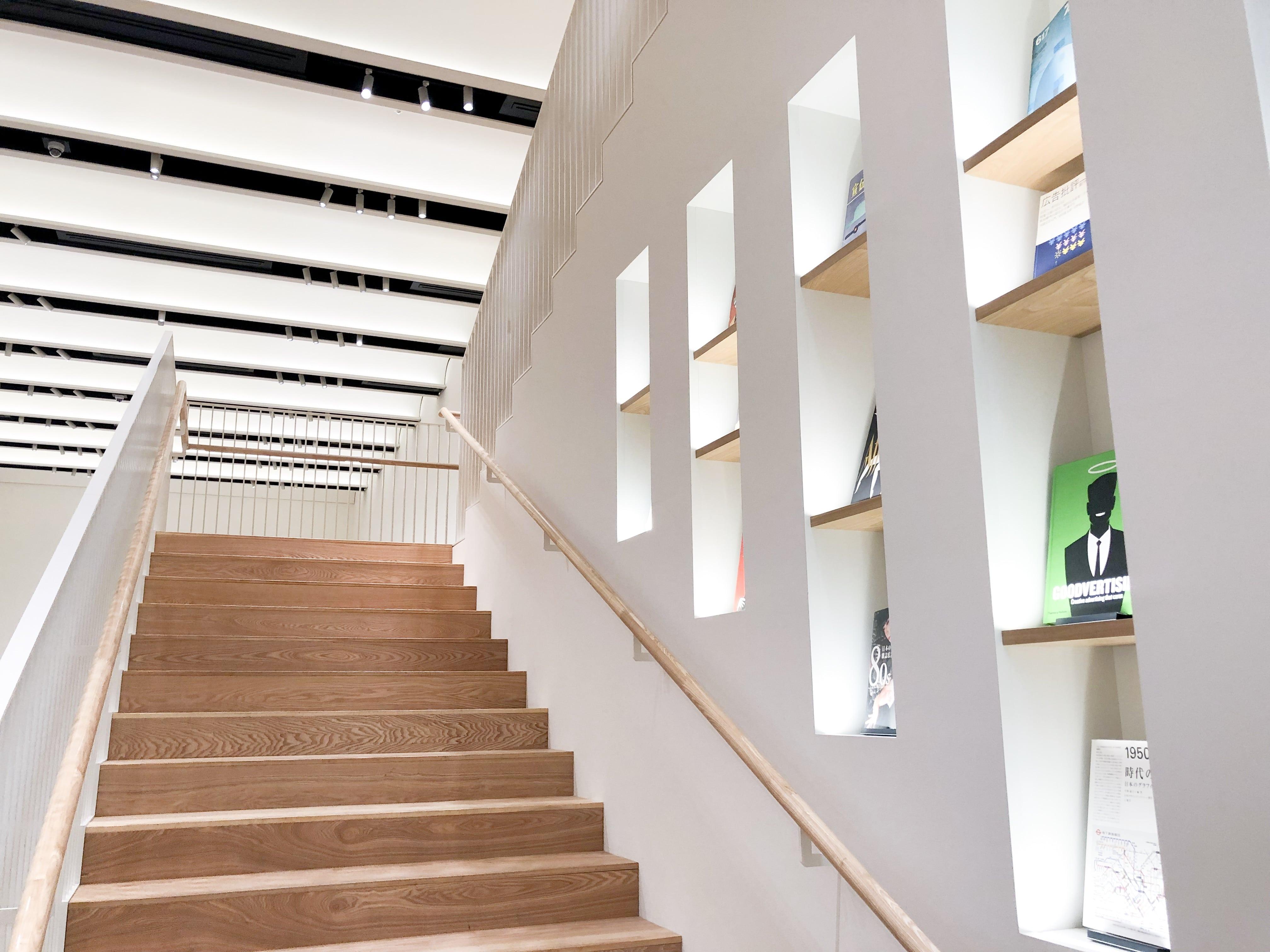 アド・ミュージアム東京内の階段