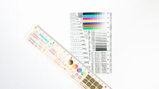 DTPのお供ポストカード・デザインのお供定規